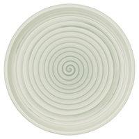 Villeroy & Boch 10-4860-2620 Artesano Nature 10 1/2 inch Vert Premium Porcelain Salad Plate - 6/Case
