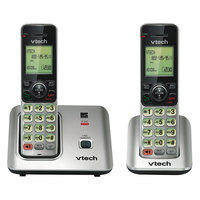 Vtech CS66192 Black / Silver Cordless Phone System