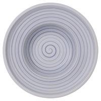 Villeroy & Boch 10-4858-2700 Artesano Nature 10 inch Bleu Premium Porcelain Deep Plate - 6/Case