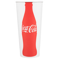 Dart Solo RP4TCB-44047 Coke® 22-24 oz. Poly Paper Cold Cup - 1000/Case
