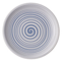 Villeroy & Boch 10-4858-2660 Artesano Nature 6 1/4 inch Bleu Premium Porcelain Coupe Bread & Butter Plate - 6/Case