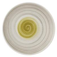 Villeroy & Boch 16-4038-2661 Amarah 6 1/4 inch Reed Premium Porcelain Flat Coupe Plate - 6/Case