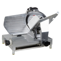 "Avantco SL512 12"" Manual Gravity Feed Meat Slicer - 1/2 hp"