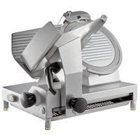 Avantco SL512 12 inch Manual Gravity Feed Meat Slicer - 1/2 hp