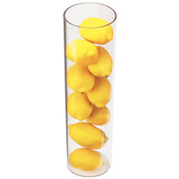 Cal-Mil 872-16 4 inch x 16 inch Round Clear Acrylic Accent Display Vase