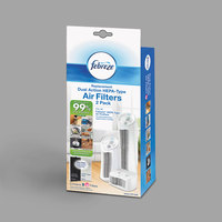 Febreze FRF102B Carbon / HEPA Filter for Air Purifiers - 2/Pack