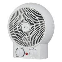 Alera ALEHEFF10W 8 1/4 inch White Heater Fan