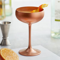 Stolzle 2730008T/2585 8 oz. Glisten Copper Coupe Cocktail Glass - 6/Case