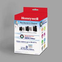 Honeywell HRFR3 HEPA Filter R for Air Purifiers   - 3/Pack
