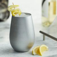 Stolzle 3520012T/2584 Glisten 16.5 oz. Silver Stemless Wine Glass / Tumbler - 6/Case