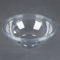 Fineline 5032-CL Super Bowl 32 oz. Clear PET Plastic Bowl - 100/Case