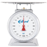 Edlund HD-200 Heavy-Duty 200 lb. Receiving Scale with 12 inch x 12 inch Platform