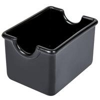 Black Plastic Sugar Caddy