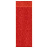 H. Risch Inc. MMB-BIS-GOR Bistro Glean 4 1/4 inch x 14 inch Orange Single View Hardback Magnetic Menu Board