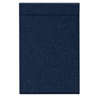 H. Risch Inc. MMB-BIS-DSA Bistro Diago 5 1/2 inch x 8 1/2 inch Sapphire Single View Hardback Magnetic Menu Board