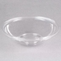 Sabert 13032A100 FreshPack 32 oz. Clear PETE Round Shallow Bowl   - 100/Case
