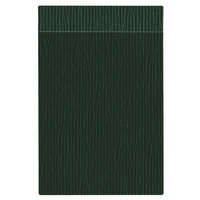 H. Risch Inc. MMB-BIS-GGR Bistro Glean 5 1/2 inch x 8 1/2 inch Green Single View Hardback Magnetic Menu Board