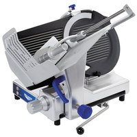 Vollrath 40955 13 inch Heavy Duty Deluxe Meat Slicer with Safe Blade Removal System - 1/2 hp