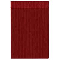 H. Risch Inc. MMB-BIS-GRE Bistro Glean 8 1/2 inch x 14 inch Red Single View Hardback Magnetic Menu Board
