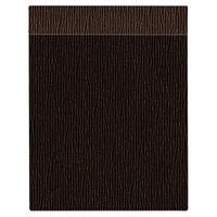 H. Risch Inc. MMB-BIS-GBR Bistro Glean 8 1/2 inch x 11 inch Brown Single View Hardback Magnetic Menu Board