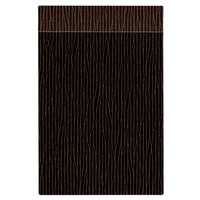 H. Risch Inc. MMB-BIS-GBR Bistro Glean 5 1/2 inch x 8 1/2 inch Brown Single View Hardback Magnetic Menu Board