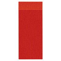 H. Risch Inc. MMB-BIS-GOR Bistro Glean 4 1/4 inch x 11 inch Orange Single View Hardback Magnetic Menu Board