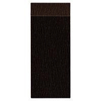 H. Risch Inc. MMB-BIS-GBR Bistro Glean 4 1/4 inch x 11 inch Brown Single View Hardback Magnetic Menu Board