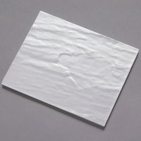 American Metalcraft FSLW10 8 1/4 inch x 10 inch White Faux Slate Melamine Platter