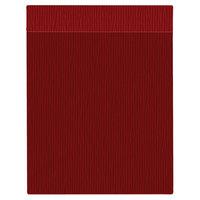 H. Risch Inc. MMB-BIS-GRE Bistro Glean 8 1/2 inch x 11 inch Red Single View Hardback Magnetic Menu Board
