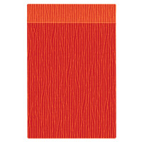 H. Risch Inc. MMB-BIS-GOR Bistro Glean 5 1/2 inch x 8 1/2 inch Orange Single View Hardback Magnetic Menu Board