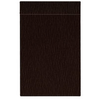 H. Risch Inc. MMB-BIS-GBR Bistro Glean 11 inch x 17 inch Brown Single View Hardback Magnetic Menu Board