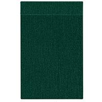 H. Risch Inc. MMB-BIS-GR Bistro Linen 11 inch x 17 inch Green Single View Hardback Magnetic Menu Board