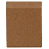 H. Risch Inc. MMB-BIS-DCO Bistro Diago 8 1/2 inch x 11 inch Pale Copper Single View Hardback Magnetic Menu Board