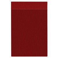 H. Risch Inc. MMB-BIS-GRE Bistro Glean 5 1/2 inch x 8 1/2 inch Red Single View Hardback Magnetic Menu Board