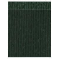 H. Risch Inc. MMB-BIS-GGR Bistro Glean 8 1/2 inch x 11 inch Green Single View Hardback Magnetic Menu Board