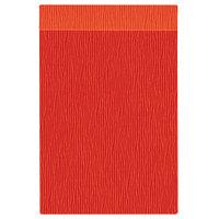 H. Risch Inc. MMB-BIS-GOR Bistro Glean 8 1/2 inch x 14 inch Orange Single View Hardback Magnetic Menu Board