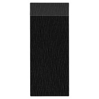 H. Risch Inc. MMB-BIS-GBK Bistro Glean 4 1/4 inch x 11 inch Black Single View Hardback Magnetic Menu Board