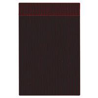 H. Risch Inc. MMB-BIS-GMA Bistro Glean 5 1/2 inch x 8 1/2 inch Maroon Single View Hardback Magnetic Menu Board