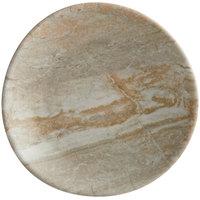 Elite Global Solutions B518R-SDST Santiago 5 1/8 inch Round Sandstone Plate - 6/Case