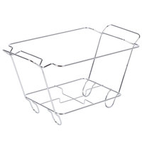 Choice Chrome Wire Chafer Stand for 1/2 Size Disposable Pans