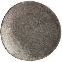 Elite Global Solutions B518R-SVST Santiago 5 1/8 inch Round Silverstone Plate - 6/Case