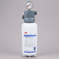 3M Water Filtration Products ICE140-S Single Cartridge Water Filtration System - 0.2 Micron Rating and 2.1 GPM