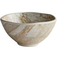Elite Global Solutions B4582-SDST Santiago 9 oz. Round Sandstone Bowl - 6/Case