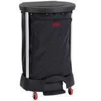Rubbermaid Premium 30 Gallon Black Linen Hamper with Executive Black Linen Hamper Bag