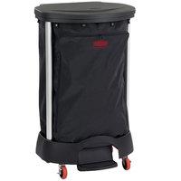 Rubbermaid Premium 30 Gallon Step-On Linen Hamper with Executive Black Linen Hamper Bag