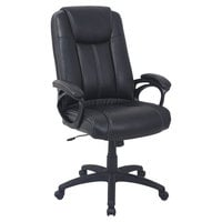 Alera ALECC4119F CC Series High-Back Black Leather Executive Office Chair