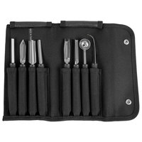 Mercer Culinary M15990 9-Piece Deluxe Garnish Kit with Case