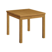 HON 80192CC Occasional 24 inch x 24 inch x 20 inch Square Harvest Laminate Table