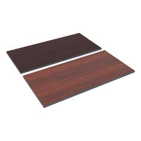 Alera ALETT4824CM 48 inch x 24 inch Cherry / Mahogany Rectangular Reversible Laminate Table Top