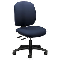 HON 5903CU98T ComforTask Series Navy Fabric Swivel Task Chair